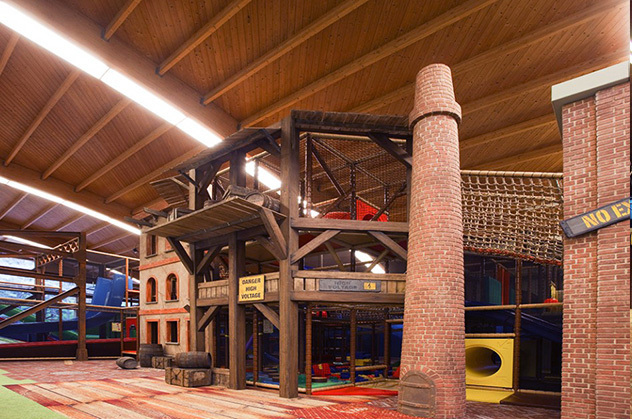 Indoor playground - factory style