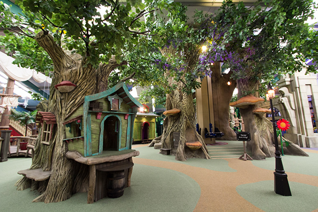 playground fairy tale theming